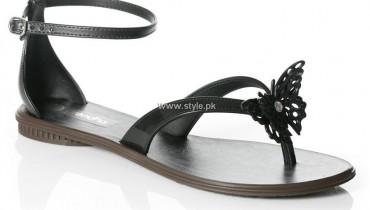 Unze Flat Sandals Collection 2013 for Ladies