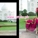 Uzma Creation Latest Taj Mahal Collection 2013 For Women 002