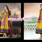 Uzma Creation Party Wear Collection 2013 For Summer 009