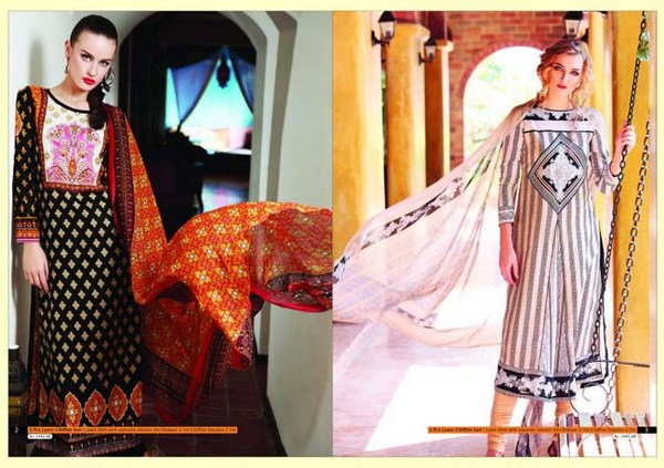 Warda Spring Summer Lawn Collection 2013 001 pakistani dresses