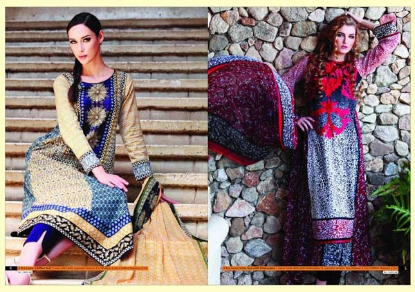 Warda Spring Summer Lawn Collection 2013 004