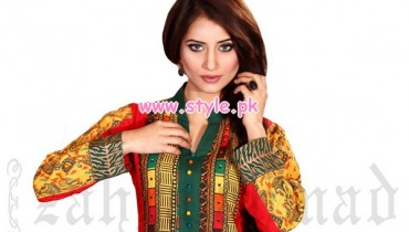 Zahra Ahmad Spring Collection For Girls 2013 007