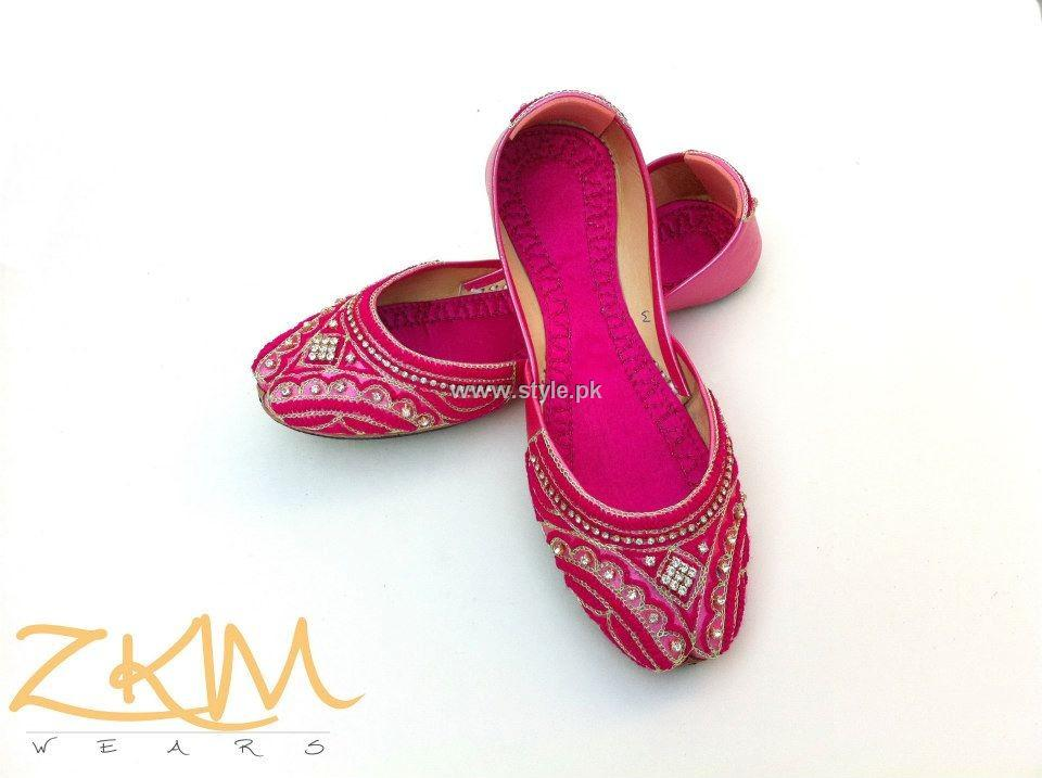 Zari Khussa Mahal Khussa Collection 2013 for Ladies