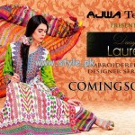 Ajwa Textile Daisy Laurel Collection 2013 001