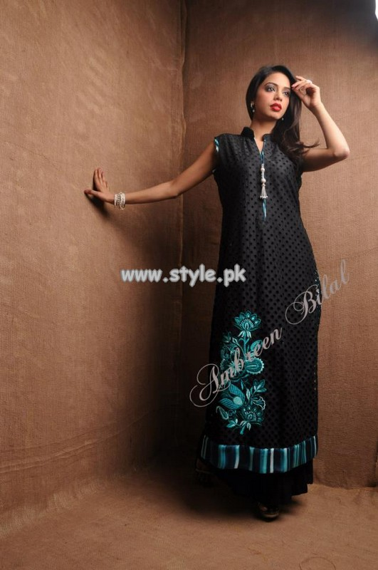 Ambreen Bilal Party Wear Collection 2013 For Spring 003 pakistani dresses