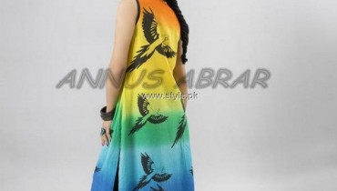 Annus Abrar Spring Summer Collection 2013 for Women