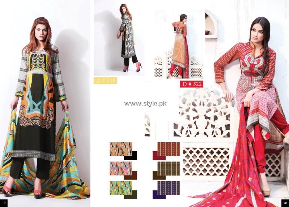Batik Lawn 2013 by Moon Textile for Women
