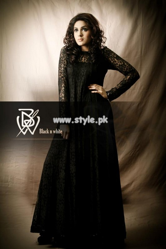 Black and White Couture Summer Collection 2013 For Girls 007