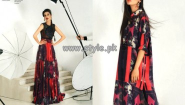 Fahad Hussayn Women Digital Prints For Summer 2013 006