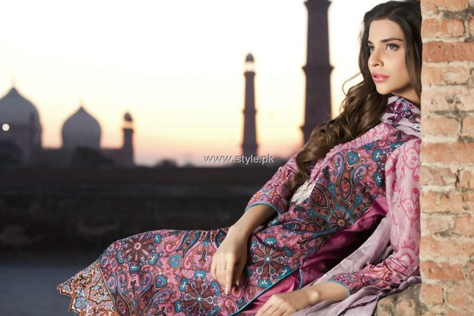 Firdous Lawn Collection 2013 for Women 001 pakistani dresses fashion brands