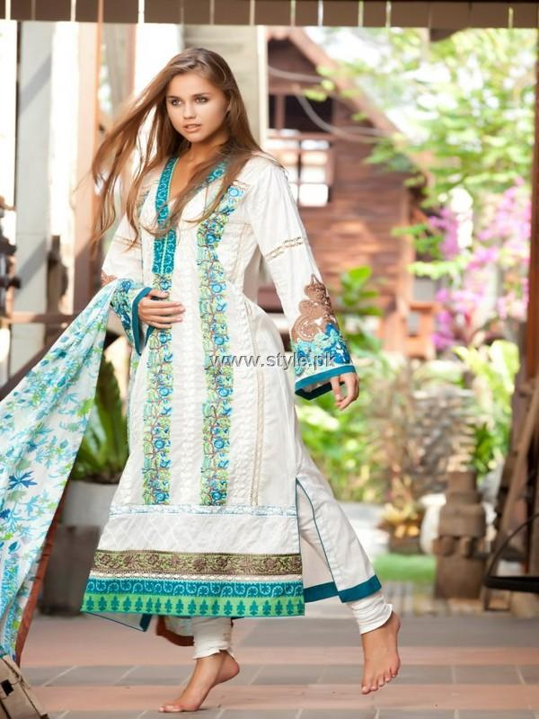 Firdous Spring Summer Collection 2013 for Women 001 pakistani dresses fashion brands