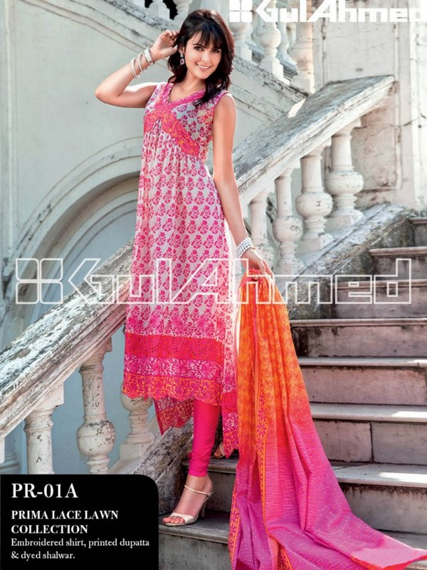 Gul Ahmed Lawn 2013 Collection for Women 001 pakistani dresses fashion brands