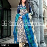 Gul Ahmed Summer 2013 Embroidered Fabrics 009