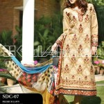 Gul Ahmed Summer 2013 Embroidered Fabrics 011