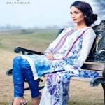 Kamal Lawn 2013 for Women by Zara Shahjahan 002