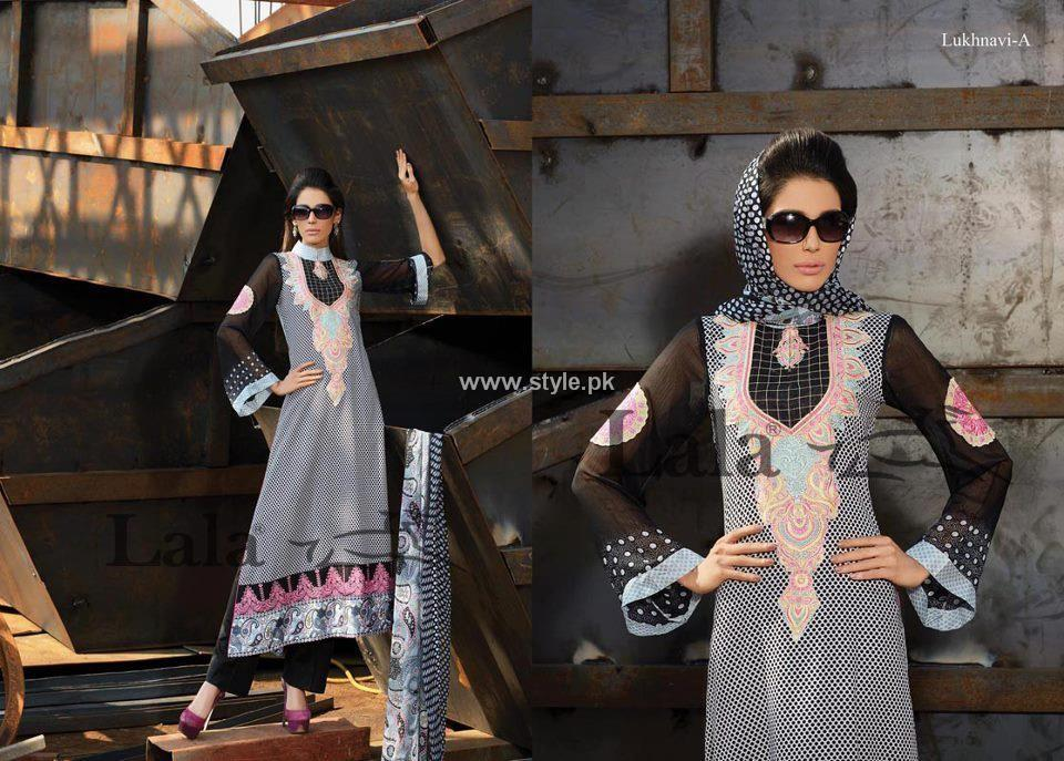 Lala Brocade Summer Collection 2013 for Women 001 pakistani dresses