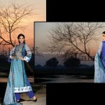 Lala Brocade Summer Collection 2013 for Women 002