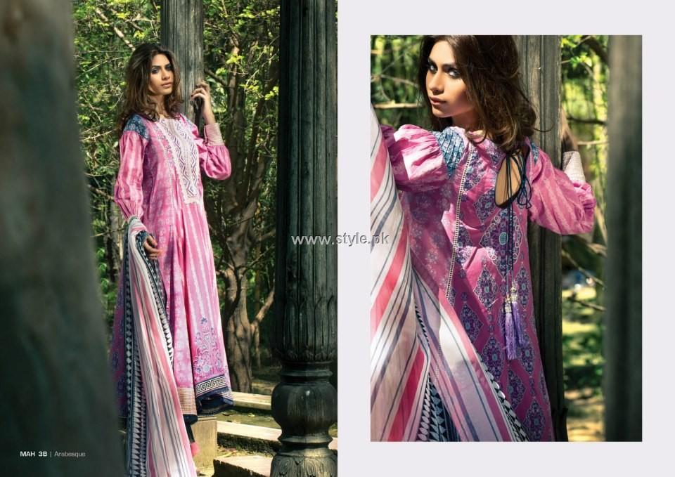 Mahnoush Lawn 2013 Dresses for Girls and Women