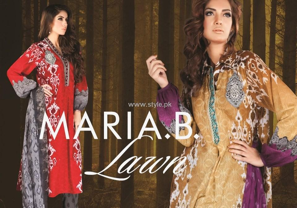 Maria B. Lawn Collection 2013 for Women 007 pakistani dresses designer dresses