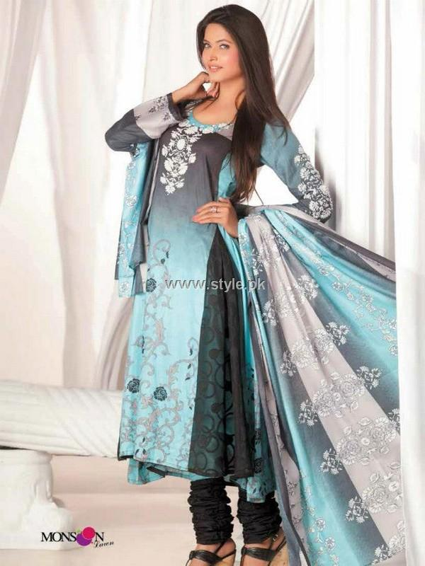 Monsoon Lawn Collection 2013 by Al-Zohaib Textiles
