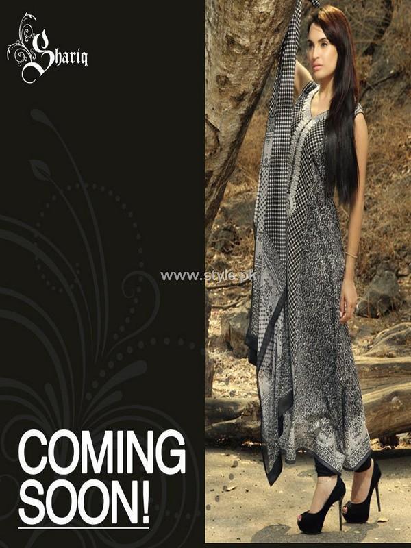 Nadia Hussain Lawn 2013 by Shariq Textiles