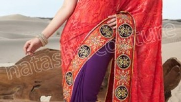 Natasha Couture Spring Saree Collection 2013 For Women 0012