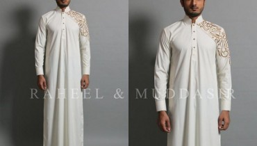 Raheel And Muddasir Spring Collection 2013 For Men  007