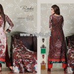 Rimsha Lawn Collection by Al-Hamra Textiles 2013 001