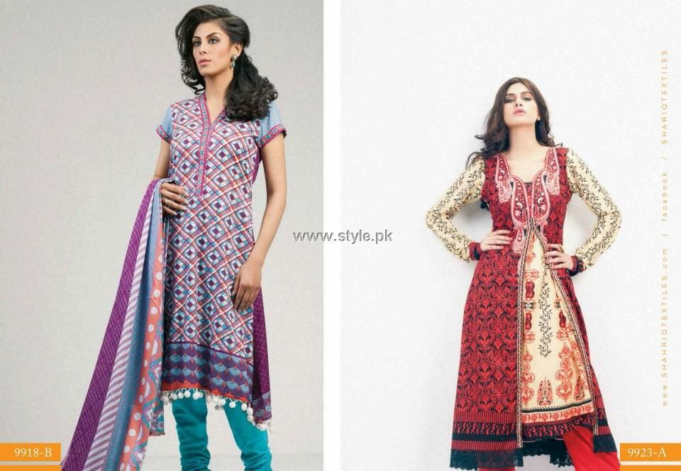 Riwaj Lawn 2013 for Women by Shariq Textiles 001 pakistani dresses