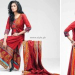 Riwaj Lawn 2013 for Women by Shariq Textiles 002