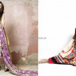 Riwaj Lawn 2013 for Women by Shariq Textiles 009