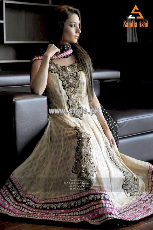 9be848f5b5c Saadia Asad Party Wear Collection For Summer 2013