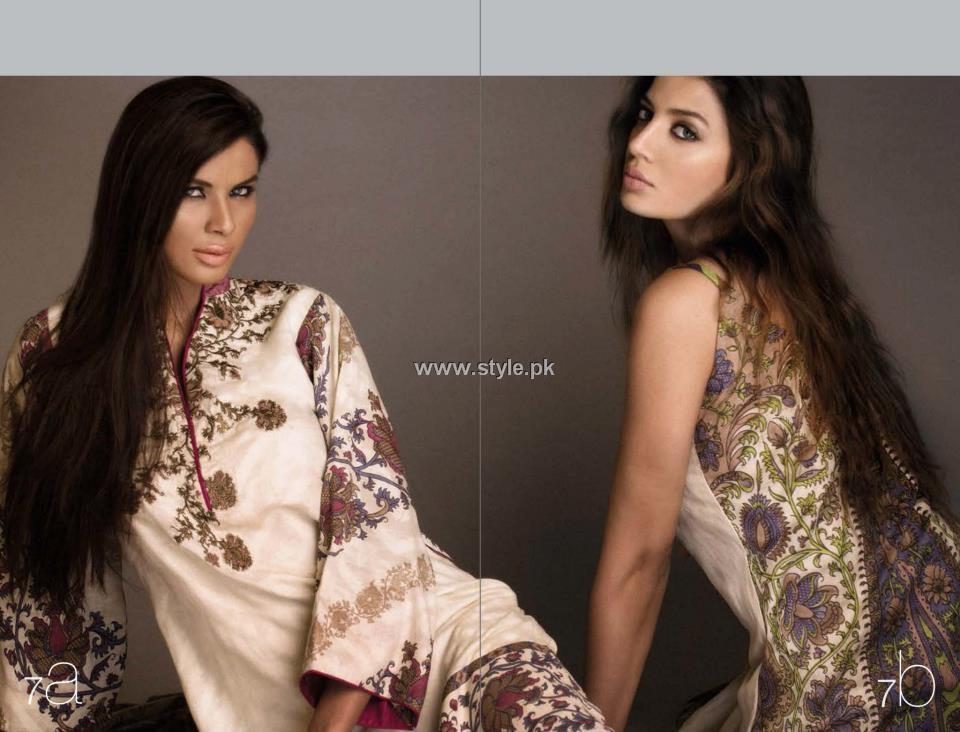 Sana Safinaz Lawn 2013 Dresses for Women