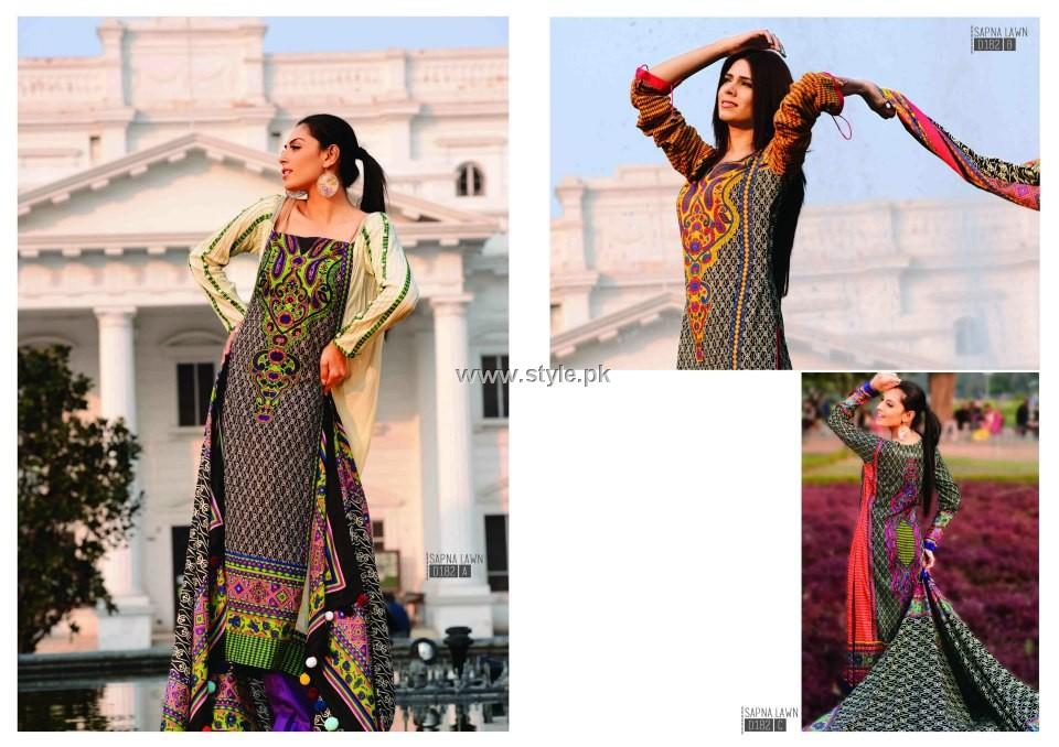 Sitara Sapna Lawn 2013 for Women and Girls 001 pakistani dresses
