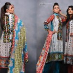 Sitara Textiles Mughal-e-Azam Lawn Collection 2013 For Women 001