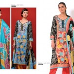 Sitara Textiles Mughal-e-Azam Lawn Collection 2013 For Women 007