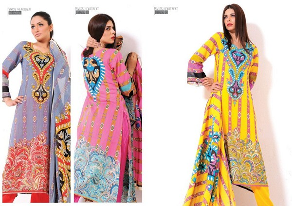 Sitara Textiles Swiss Heart Beat Collection 2013 For Women 006