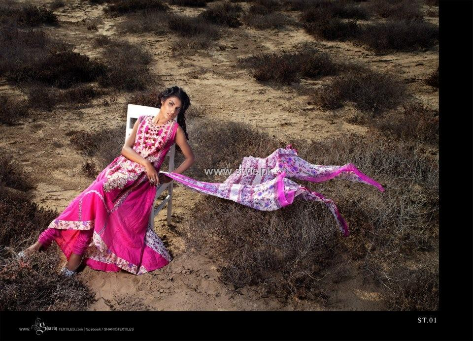 Subhata Lawn Collection 2013 by Shariq Textiles