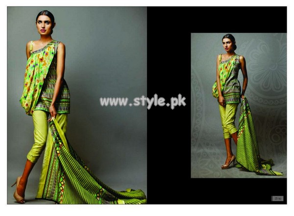 Subhata Lawn Collection For Summer 2013 001