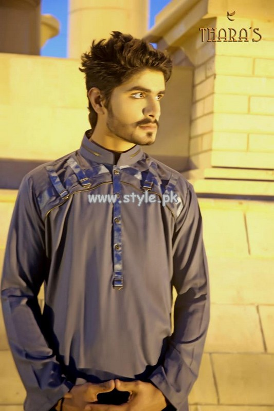 Thara's Kurta Shalwar Collection For Men 2013 001