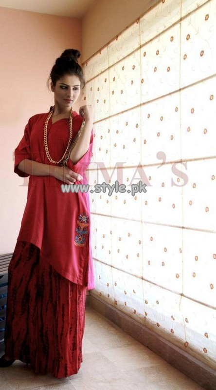 Timma's Spring Summer Collection For Women 2013 005