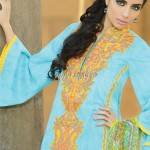 Umar Sayeed Lawn 2013 by Alkaram for Women 004
