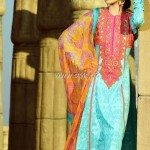 Umar Sayeed Lawn 2013 by Alkaram for Women 007