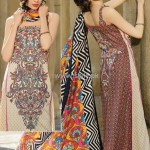 Umar Sayeed Lawn 2013 by Alkaram for Women 012