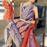 Umar Sayeed Lawn 2013 by Alkaram for Women 014