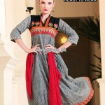 Warda Designer Collection Lawn Prints For Summer 2013 001