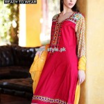 Warda Designer Collection Lawn Prints For Summer 2013 003