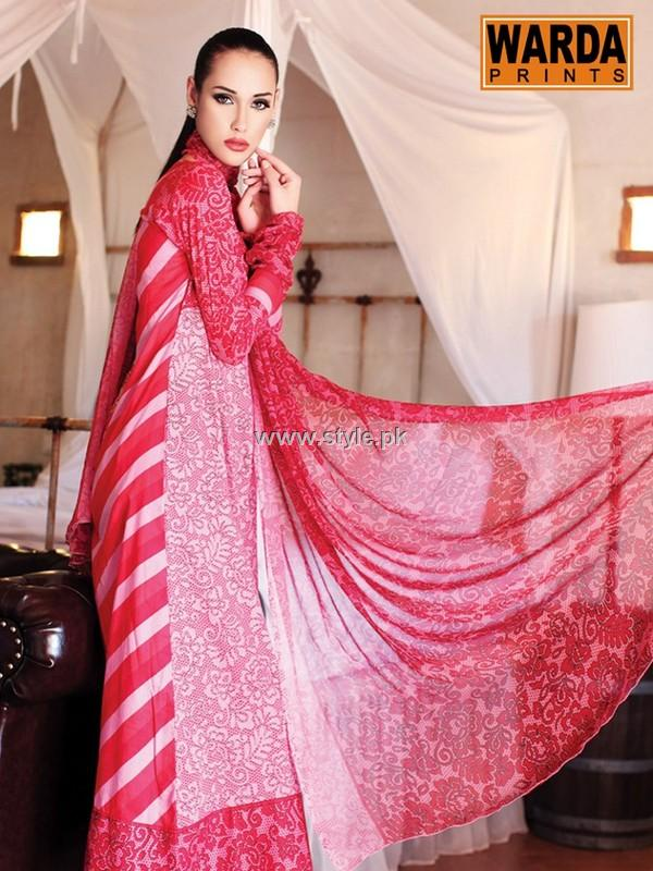 Warda Designer Collection Summer Range 2013 New Arrivals 001 pakistani dresses