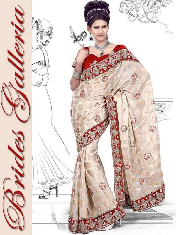 Brides Galleria Bridal Saree Collection 2013 For Women 004