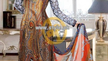 Dawood Alishan Lawn Collection For Summer 2013 012